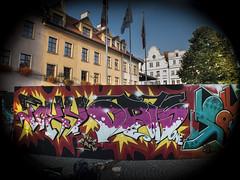 """Street Wars 4"" Poland (Rysjungle) Tags: street city galway beer colors graffiti monkey dance team europe colours gorilla market poland spray crap hiphop wars hip hop breakdance arcades bboy gora afx kak fact rathouse durex rizzla streetwars jelenia oner bgirls tda ratusz rask jeleniagora jelonka fork4 diask kox4 rysjungle ryszardwozniak eoinart"