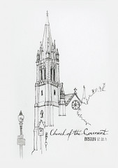 Church of the Covenant (jdan_sketch) Tags: boston sketch churchofthecovenant jdan urbansketcher
