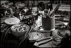 Tools of the trade (GioMagPhotographer) Tags: italy pienza toscana valdorcia leicamonochrom