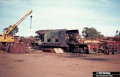 20 May 1980 XB1032 Midland Workshops 1212 (RailWA) Tags: 1980 midland workshops westrail railwa philmelling xb1032