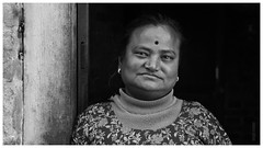 1230-IMGP9513 (Portrait, Live Music, Travel and Architecture) Tags: portrait blackandwhite bw monochrome face blackwhite retrato cara