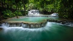 Laos (jpmiss) Tags: voyage longexposure travel canon waterfall asia asie laos cascade luangprabang 6d ndfilter kuangsi mékong louangprabang jpmiss