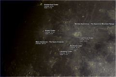 Copernicus Crater and Surroundings (Dark Arts Astrophotography) Tags: moon mare crater astrophotography astronomy lunar copernicus
