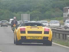 Lamborghini Gallardo Spyder (Harry3099) Tags: car yellow fast spyder lamborghini supercar v10 gallardo