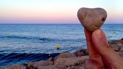 10th August 2014 - Reaching for the Infinite Heart (soniaoo) Tags: sea beach mar heart playa infinite photooftheday