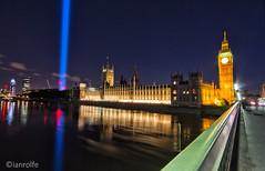Westminster (ianrolfe) Tags: bridge london westminster thames nightscape parliament bigben landmark spectra artangel