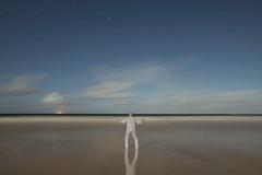 Holding back the tide of sleep (Alex Bamford) Tags: beach fullmoon moonlight stives pajamas pyjamas porthmeor sleepwalking alexbamford wwwalexbamfordcom alexbamfordcom