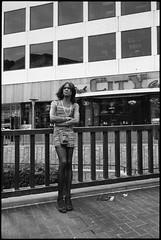 Powell St. (icki) Tags: sanfrancisco california ca street blackandwhite vertical streetportrait powellst march2014