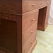 "Oak pedestal/knee hole desk. • <a style=""font-size:0.8em;"" href=""http://www.flickr.com/photos/8353319@N04/14971041538/"" target=""_blank"">View on Flickr</a>"