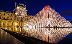 Louvre at night (Dan_Fr) Tags: longexposure paris france architecture night nikon louvre d5100 thepinnaclehof tphofmarch2015