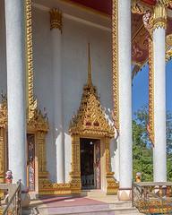 Wat Khao Rang Ubosot Entrance (DTHP0556) วัดเขารัง ทางเข้า อุโบสถ