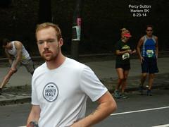Percy Sutton Harlem 5K Run 8-23-14 (local1256) Tags: nyc newyorkcity tattoo race harlem running