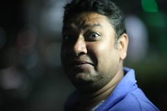 The Quintessential Mitul Portrait (N A Y E E M) Tags: street portrait night friend raw photographer untouched bangladesh gec unedited chi