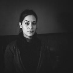 Lorena (Ian Beaks) Tags: portrait 6x6 tlr film lady rollei dark ian italian key low va 400 medium format lorena beaks rolleicord fomapan ianbeaks