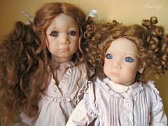 Esme Esme & Irmi (Tartadefresa) Tags: doll kinder 1997 annette esme puppen muñeca irmi annettehimstedt
