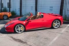 Ferrari 458 Italia spyder (SBGrad) Tags: auto car nikon italia ferrari spyder nikkor symbolicmotors symbolic pininfarina alr 458 2104 24mmf28d d300s
