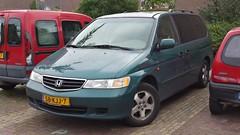 Honda Odyssey 3.5 V6 (sjoerd.wijsman) Tags: auto holland green cars netherlands car honda groen nederland thenetherlands voiture vehicle holanda autos minivan odyssey import paysbas olanda fahrzeug niederlande mpv zuidholland hondaodyssey pijnacker carspotting hcar carspot sidecode7 58kjj7