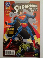 Superman in Action Comics #711 (sheriffdan10) Tags: fiction comics dc collection comicbook superhero comicbooks dccomics superheroes