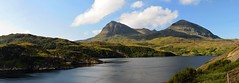 quinag from loch a' chairn bhain (stusmith_uk) Tags: landscape scotland august sutherland 2014 quinag corbetts lochachairnbhain