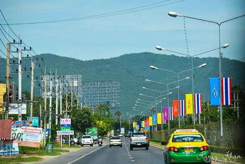 Road from Hua Hin