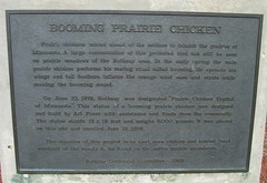 Booming Prairie Chicken Plaque (Rothsay, Minnesota) (courthouselover) Tags: minnesota mn roadsideamerica worldslargestthings animals statues wilkincounty rothsay northamerica unitedstates us