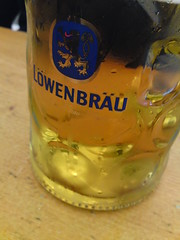 Beer from the lowenbrau brewery!