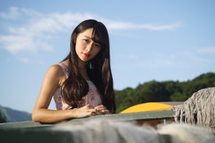 DSC04799 (rickytanghkg) Tags: portrait lady female asian hongkong model pretty outdoor sony chinese a7r