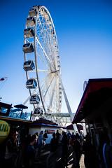 Ferris Wheel (imbaoroh) Tags: seattle city sky wheel ferris boardwalk ferriswheel
