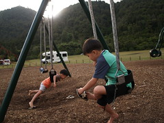NZ Rotorua Lake (dam.dong) Tags: travel camping car rotorua jin olympus nz min campervan e500