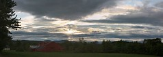 2014_0906Sunset-Pano0002 (maineman152 (Lou)) Tags: sunset summer sky panorama cloud storm nature weather clouds landscape maine september storms badweather stormclouds thunderstorms naturephotography landscapephotography naturephoto landscapephoto