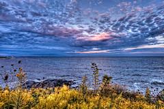 Eternity begins and ends with the oceans tides. (SergeK ) Tags: ocean blue sea sky mer view bleu rhodeisland newport sergek