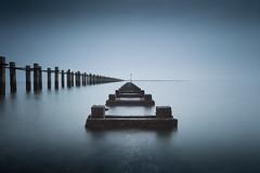 Return to Pigs Bay (Scott Baldock) Tags: longexposure seascape art abandoned landscape pier seaside jetty fine estuary riverthames groyne hightide formatthitechfilters