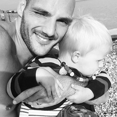 Ben and Theo (Ben Heine) Tags: uk family friends love smile happy seaside holidays father happiness son pebbles amour angleterre hastings fatherhood bonheur pre theodor paternit benheine saintleonardsonsea benheineson