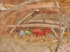 Sand Toys, Autumn Leaves beneath Empty Benches - Tuberculosis Sanatorium, Mirror Ground ~ Sandspielzeug, Herbstlaub unter Bankerln. Spiegel Grund Pavillon Annenheim Lungenheilanstalt Steinhof (hedbavny) Tags: vienna wien red orange rot art abandoned bench studio toy found austria mirror sterreich decay empty leer spiegel kunst diary jahreszeit bank sketchbook september gelb cycle letter dust alter spiegelung psychiatrie tagebuch find vangogh spielzeug fool atelier herbstlaub jugendstil fund kindheit narr ottowagner procrustes staub baumgarten trove objettrouve werkstatt penzing gugelhupf findesiecle jahrhundertwende steinhofgrnde htteldorf steinhof arbeitsraum melancholie infektion baumgartnerhhe skizzenbuch lungenheilanstalt annenheim ottowagnerspital irr zyklus lungenentzndung amsteinhof spiegelgrund briefwechsel prokrustes carlovonboog hedbavny ingridhedbavny 2lungenabteilung