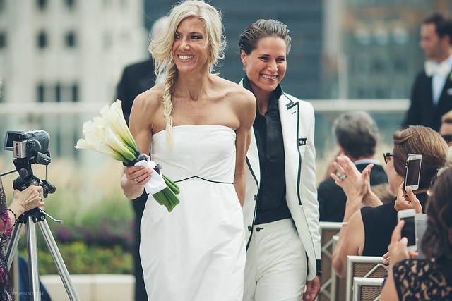 Alli & Kristin | Trump Tower Chicago Wedding