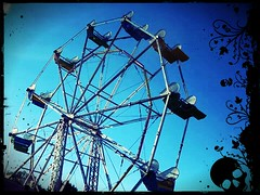 RIDE OF YOUR LIFE (Bizzle Photography) Tags: fun ride spin panic ferriswheel bizzle excitement topoftheworld thrill frightening gregbizzle gregorybizzle