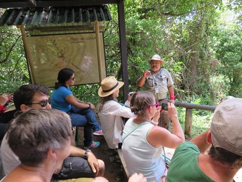 Visita Monumento Nacional Guayabo- XVI Congreso