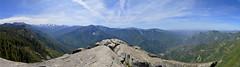 Moro Rock - Panorama (TJP3991) Tags: california panorama mountains landscape nationalpark sierranevada sequoia sequoianationalpark sierranevadas mountainscape sequoias mororock greatwesterndivide