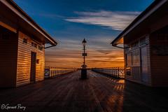 Penarth Pier (parry101) Tags: penarth pier sunrise sky skies cloud clouds south wales beach cardiff reflection water landscape coast sea morning outdoor seaside shore