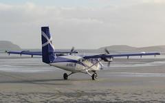 Departure time (Graham`s pics) Tags: departure beach sea bay barra barraairport outerhebrides scotland islandofbarra aircraft aeroplane airplane traighmhrbay barraeoligarryairport loganair flybe