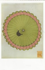 ID: MX-33539 (LillieBuggy) Tags: postcrossing received postcard pink green pretty umbrella