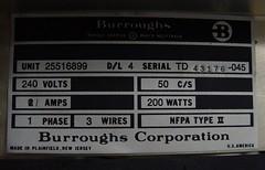 TD700 (wcrpaul) Tags: burroughs selfscan gasplasma plasmadisplay videoterminal videodisplay keyboard vintagekeyboard vintagecomputer vintagecomputing retrocomputer retrocomputing td 700 designlevel4 paulbackhouse sonycybershot dscf717 240volts 110volts