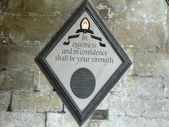 Salisbury Cathedral grounds 2016 (Sweet Mango 1965) Tags: salisbury cathedral 2016 wall plaque wiltshire