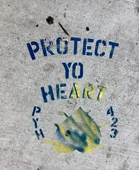 Protect Yo Heart - NYC (verplanck) Tags: manhattan nyc unionsquare streetart pyh