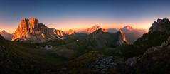 Fleeting Moment (@hipydeus) Tags: dolomites sunset alpenglow