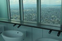 Mirror (T.Machi) Tags: mirror city building osaka japan landscape washroom bathroom basin sink water high xf1 fujifilm
