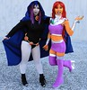 6ixx_moose and 6ixx_kawaii as Raven and Starfire from Teen Titans (Chronic Crippler) Tags: 6ixxmoose 6ixxkawaii raven starfire teen titans ebgames expo 2016 cosplay sydney