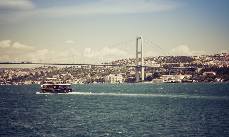 Turcja, Stambuł -- nad Bosforem po raz drugi..