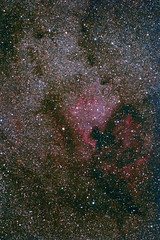 North America Nebula (danyal1373) Tags: nebula astronomy astrophotography ir halpha deepsky sky 60dmod 60d darksky kerman iran shahdad