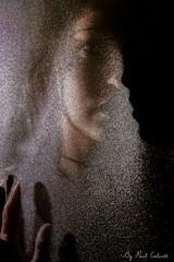 hidden shadow (Paul Calcutt) Tags: face light shadow silhouette reflection touch thoughts portrait canon 7d paul calcutt texture art model person